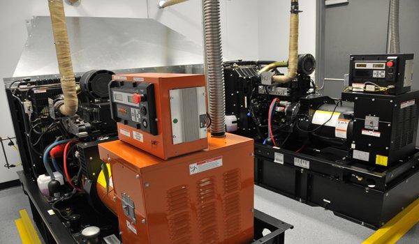 Dual Back Up Power Generators